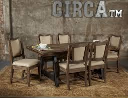 dark beach dining room set from avalon furniture coleman furniture