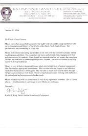 100 recommendation letter sample for teacher assistant nice