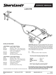shorelandr manual nut hardware axle