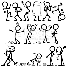 Meme Figures - make meme with drunk stick figure clipart