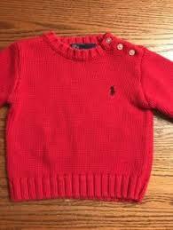 ralph lauren baby girls size 12 months pink long sleeve polo dress