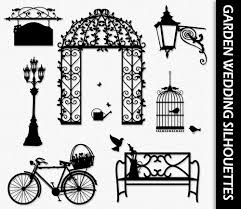 garden wedding clip art love clipart graphic scrapbook