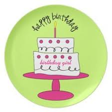 birthday cake plate by cliquecreative on etsy 65 00 paint your