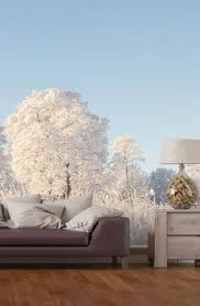43 best christmas decoration ideas images on pinterest wallpaper bring the outdoors in this christmas with this wall mural featuring pretty snowy trees great