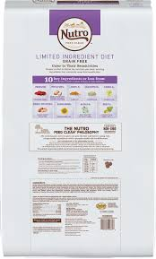 nutro limited ingredient diet grain free venison meal