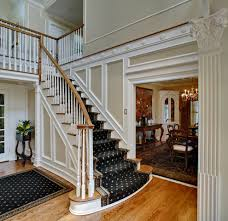 foyer ideas with stairs staircase traditional with black stair