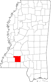 Lincoln City Map Lincoln County Mississippi Wikipedia