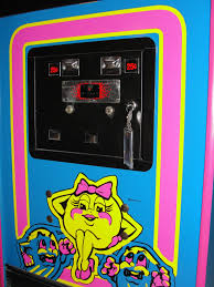 Ms Pacman Cabinet Guscade Namco Midway U0027s Ms Pac Man 1981