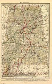 Map Of Southern Michigan by Old Alabama Railroad Map