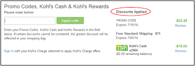 amazon com promo codes black friday entering promo codes kohl u0027s cash rewards in checkout