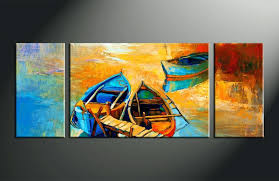 themed paintings wall ideas handmade amazing contemporary wall seascape