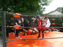 Backyard Wrestling Promotions Ric Drasin Bodybuilder And Wrestler