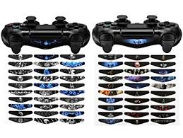 how to change the color of ps4 controller light amazon com extremerate 60 pcs set custom color scary ghost light