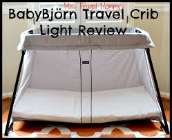 baby bjorn travel crib light babybjörn travel crib light review getting ready for baby gift