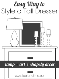 Dresser Designs For Bedroom How To Style A Highboy Dresser Nightstands Bedrooms And Master