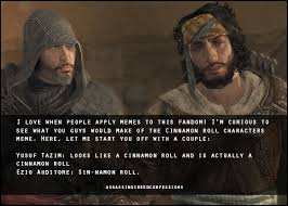 Ezio Memes - assassin s creed confessions