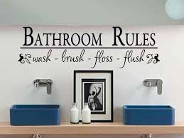 wall decor for bathroom ideas bathroom stickers for walls sensational 10 wall decals for