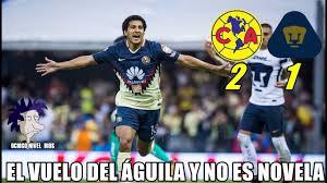 Memes De America Vs Pumas - memes américa vs pumas 2 1 liga mx américa gana el clásico