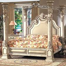 King Size Canopy Bed Sets China 2017 Classic Style Solid Wood Home Bedroom Set From