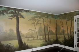 Residential Murals  The Mural Works - Dining room mural