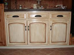 how to stain kitchen cabinets without sanding image of