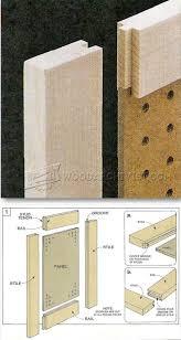 Making Cabinet Door by Making Stub Tenon Doors Cabinet Door Construction Techniques