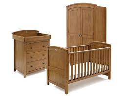 Pine Nursery Furniture Sets 3 Nursery Furniture Set Classic Two Tone 3 Nursery