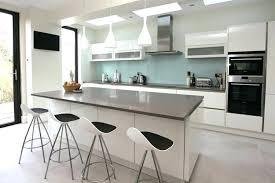 deco de cuisine modele de cuisine blanche cheap modles de cuisine design italien