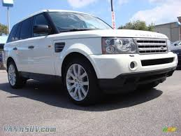 land rover 2007 2007 land rover range rover sport supercharged in chawton white