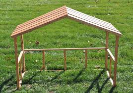 outdoor nativity wooden stable for large outdoor nativity set yonder