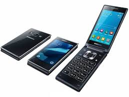 android flip phone usa samsung unveils g9198 the dual screen android flip phone android