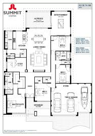 One Room Cottage Floor Plans Floor Plan Friday Open Living With Triple Garage Floor Plans