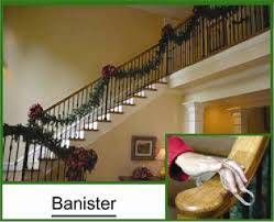 Pictures Of Banisters Anthony U0027s Christmas Trees And Wreaths Garland Grabbers