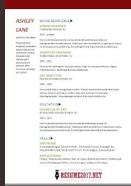 It Resume Templates Basic Resume Template 2017 Learnhowtoloseweight Net