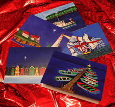 holiday gift card set contemporary unavailable out of print