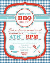 picnic and barbecue party green and purple invitation design