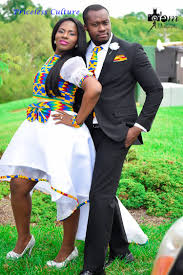 hottest ankara couple matching skirt and african tie african