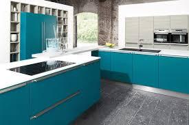 cuisine bleu turquoise cuisine cuisine bleu turquoise et gris cuisine bleu turquoise et