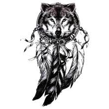 Wolf Indian Tattoos - popular wolf tattoos buy cheap wolf tattoos lots from