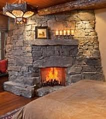 rustic stone fireplaces corner fireplaces rustic stone corner fireplaces