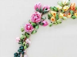 Rose Flower Design 25 Best Ribbon Embroidery Tutorial Ideas On Pinterest Ribbon