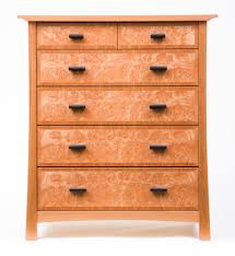 Maple Bedroom Furniture Cherry And Maple Burl Bedroom Suite Ct Fine Furniture By Craig