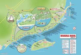 Mexico Resorts Map by Viva Puerto Morelos Riviera Maya Hotels
