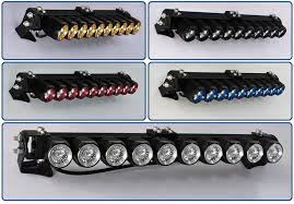 Light Bar For Motorcycle Projector Lens Cree Led Off Road Light Bar 300w Aluminum Housing