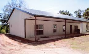 Metal Buildings With Living Quarters Columbia Vacation Rental - Steel building home designs
