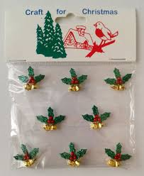 crafts for christmas glittery holly u0026 berries with little gold