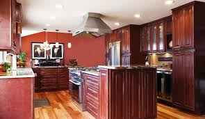 Red Mahogany Kitchen Cabinets by Kitchen Cabinet Variations Tampa Cabinet Store