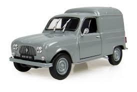 voiture renault renault 4l f4 grise fabriqué par universal hobbies echelle 1 32