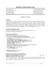 Sample Resume Objectives For Radiologic Technologist by X Ray Tech Resume Cover Letter