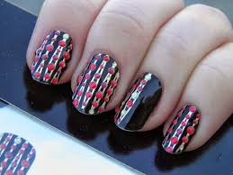vintage musings of a modern pinup avon nail art stickers review